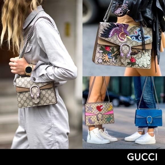 459b9da3c7e1 Gucci Bags | Dionysus Large Cobalt Blue Suede Handbag | Poshmark
